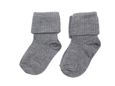 MP strømper uld grey (2-pack)